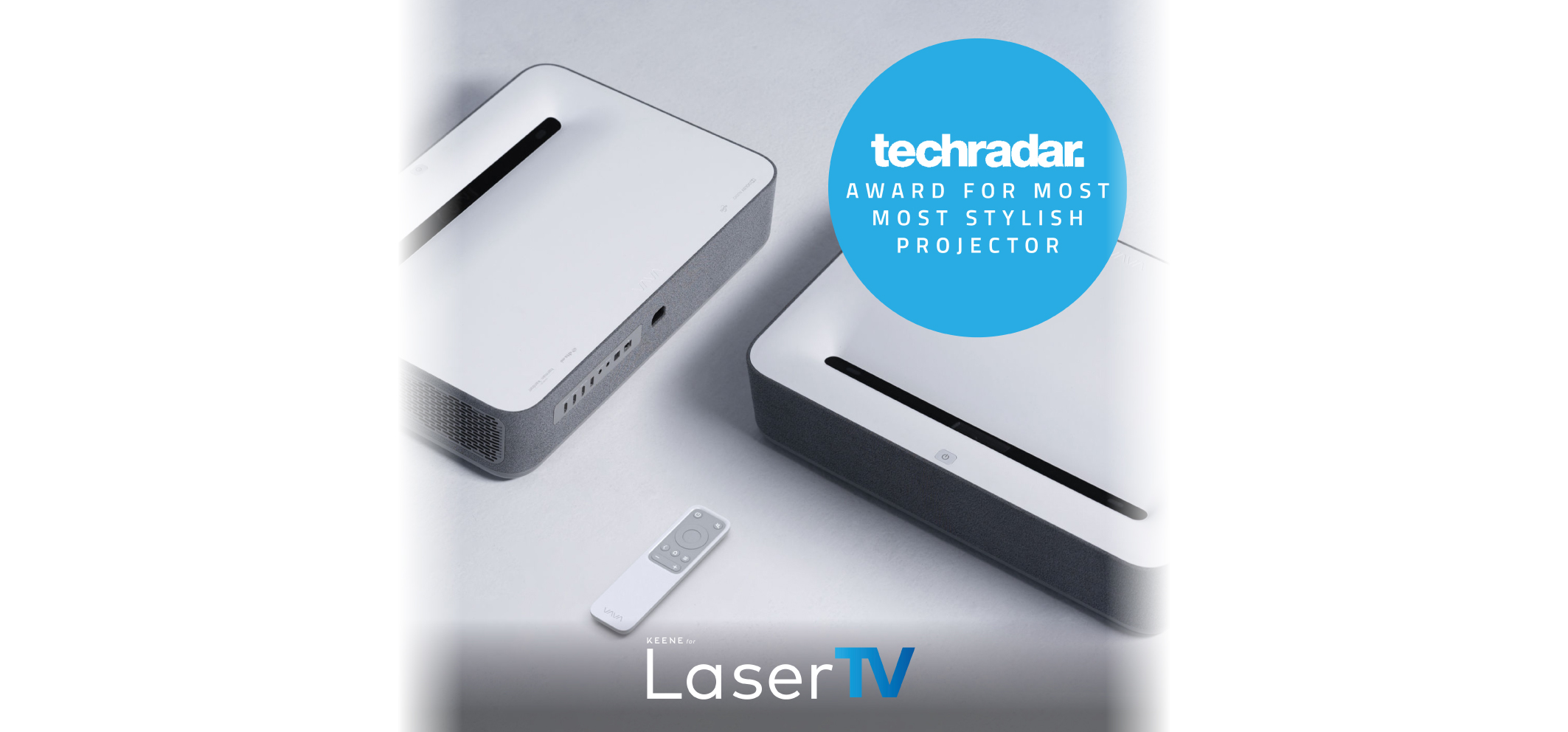 LaserTV | Winner – Techradar's Most Stylish 4K Projector