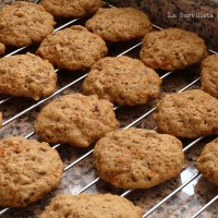 Carrot Cake Cookies o  Galletas de Zanahoria