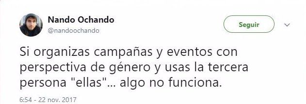 Tweet @nandoochando