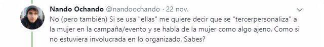 tweet nando