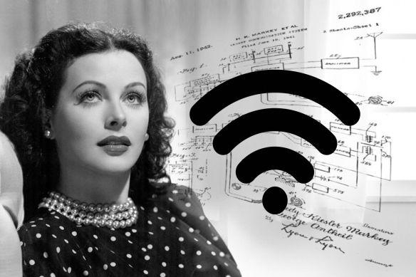 Resultado de imagen para Hedy Lamarr — Comunicación inalámbrica
