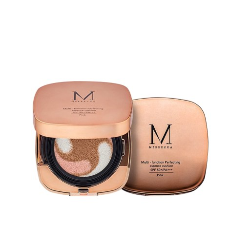 Merrez'Ca Multi-Function Perfecting Essence Cushion SPF50PA+++ #Pink