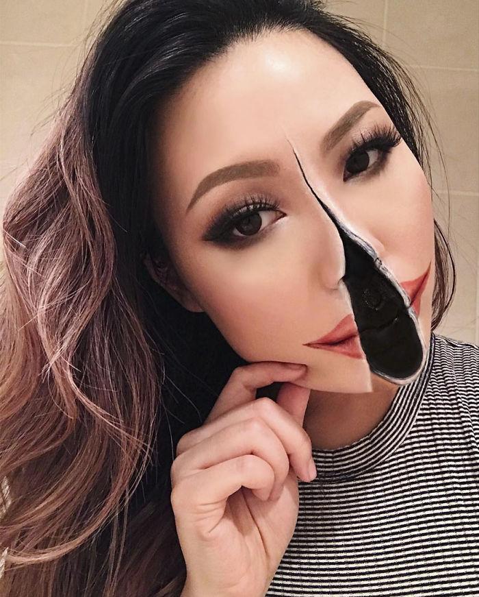 optical illusion make up mimi choi - Teacher Quits to Do Makeup Full Time