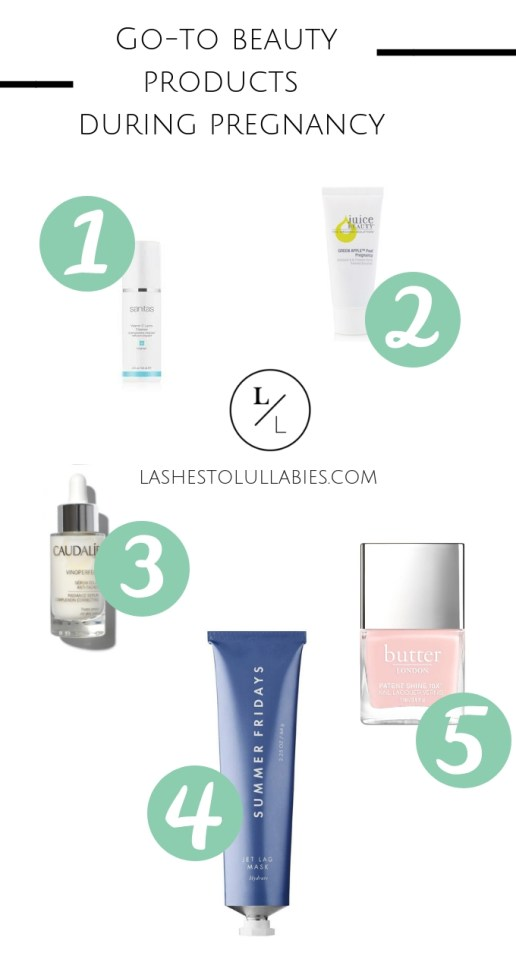 Beauty Products while pregnant