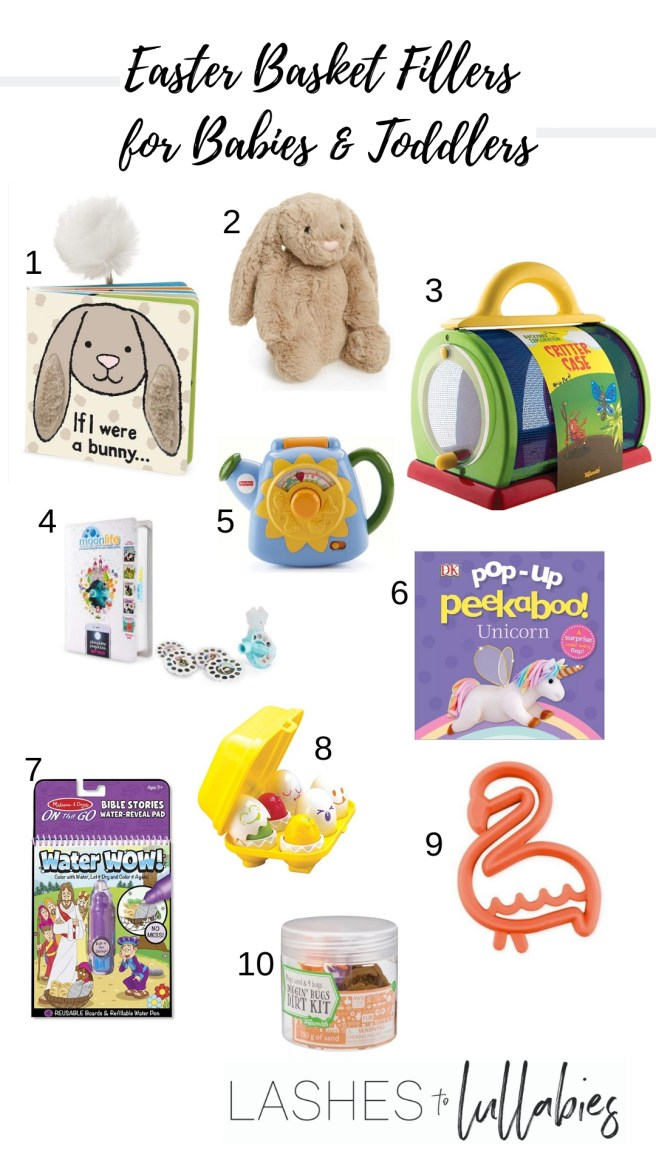 Easter Basket Fillers for Babies & Kids