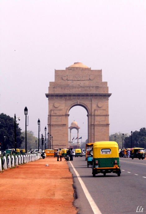 Indian gate, New Delhi, India