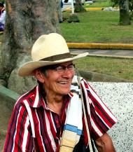 Man Filandia, Quindio, Colombia,