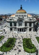 Mexico DF, Palacio de Bellas Artes