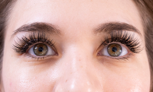 Lash Extensions Russian Hybrid Classic Newport Beach