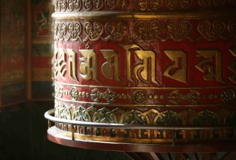 Templo de Buddha Ghyanghuti Gompa, Boudhanath de Katmandú