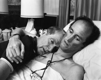 El Dr. Robert Sappenfield con su hijo 1988