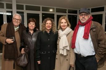 Antonia Salas, María Duran, Poli Rigo, Patrícia San Martín, Roberto Mazorriaga Foto: © La Siesta Press (Queda expresamente prohibida la reproducción total o parcial)