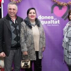 Mateo Jaume, , Soledad Hidalgo, Rosa Ruesga de la Asociación Foto: © La Siesta Press | J. Fernández Ortega (Queda expresamente prohibida la reproducción total o parcial)