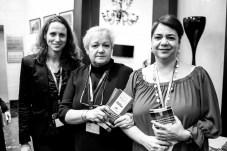 Yanina Paglinoi, Loudes Espases, Monica Aige Trabajadoras sociales