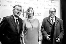 Javier Cortes Presidente, Patrícia Gomez, July Fuster