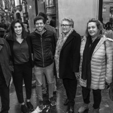 Rafel Oliver, Mariona Caldentey, Enric Plomer, Maria Oliver, Amparo García y Maria Rigo © La Siesta Press