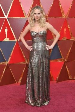 90th Annual Academy Awards - Jennifer Lawrence 03