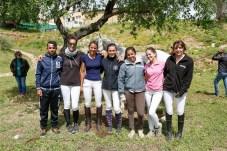 Samade, Maite, Patxi, Marina, Jery, Livia y Lola © La Siesta Press / J. Fernández Ortega
