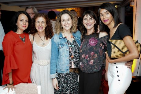 Marta Gonzalez, Isabel Bueno, Antonia Anglada, Cati Vallespir y Paloma Moquete © La Siesta Press / J. Fernández Ortega
