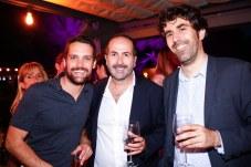 Juan Peralta, Antonio Fernández-Coca, Joan Miquel Seguí © La Siesta Press / J. Fernández Ortega
