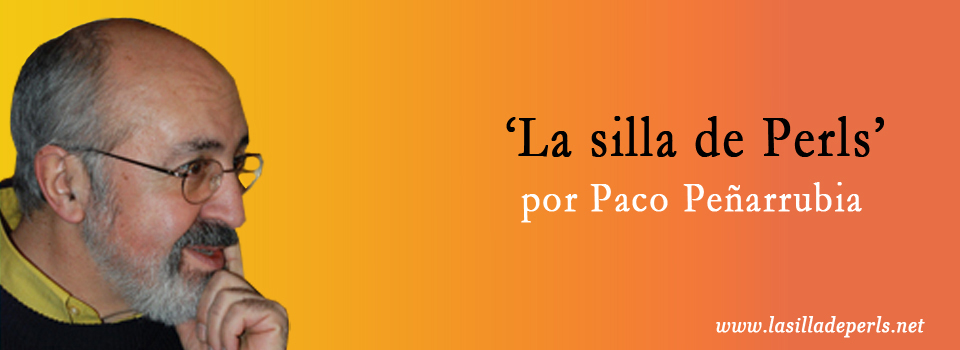 Paco Peñarrubia: 'La silla de Perls'