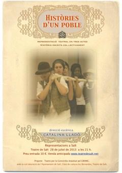 Cartel de 'Historias de un pueblo'