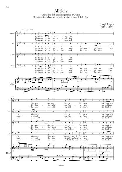 Joseph Haydn Alleluia