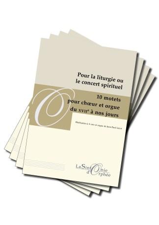 10 motets pour chœur et orgue Jean-Paul Lécot