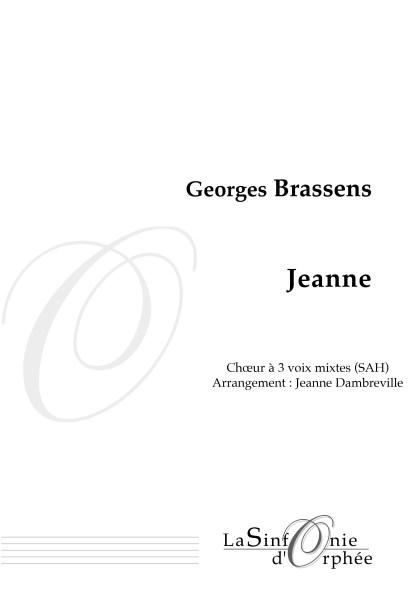 Georges Brassens, La Jeanne