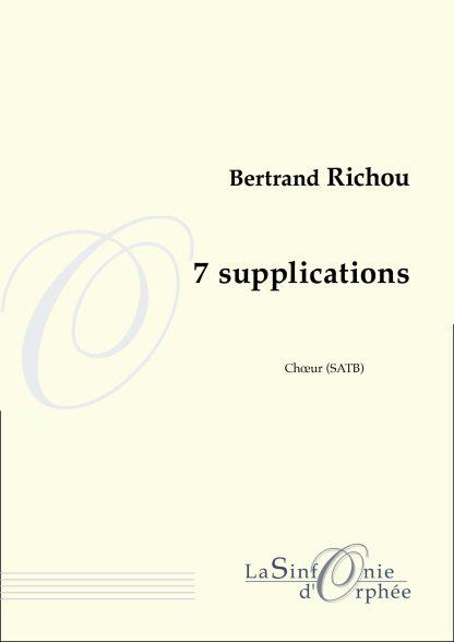 Bertand Richou 7 supplications