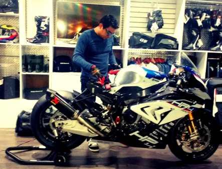 José Ángel Sotelo Rico, asesor de Mantenimiento y Performance en motos premium,