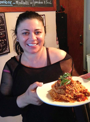 Teresa Sirignano, owner and executive chef of La Sirena