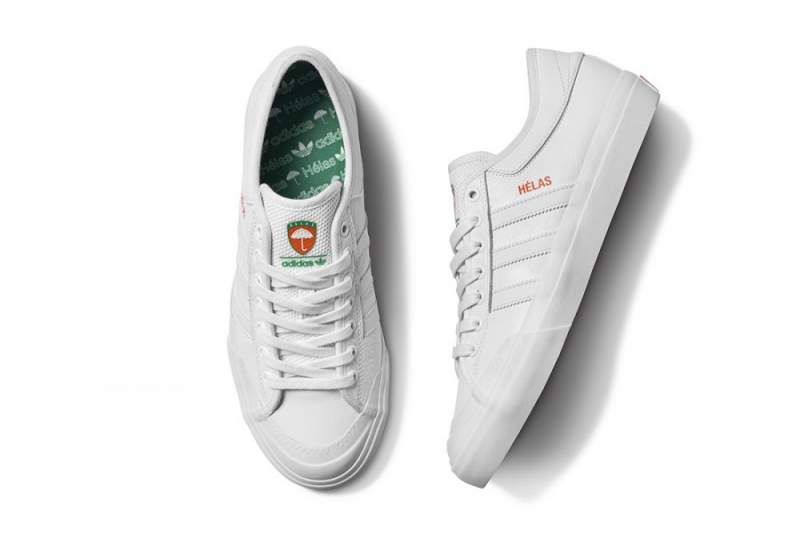 2018 sneakers skate shoes look out for Capsule collection Adidas Skateboarding x Hélas