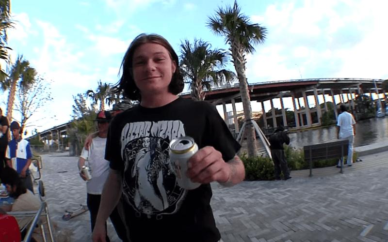 Skate Trip à Miami avec une partie de la team BAKER