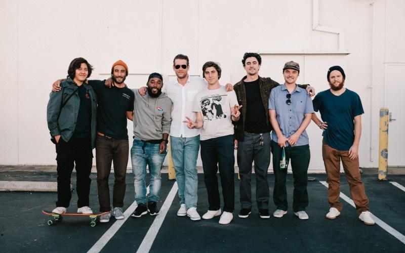 New Balance Skate team