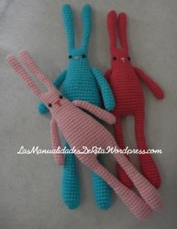 conejo amigurumi (3)