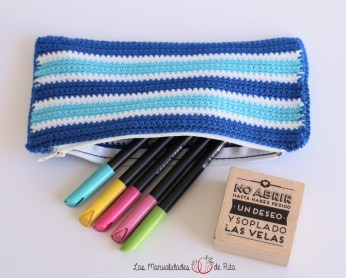 sello mr wonderful - Estuche azul