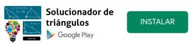 app solucionador de triángulos gratis