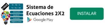 app sistema de ecuaciones 2x2