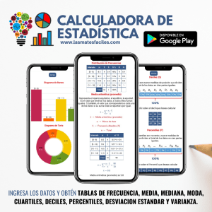 Calculadora de Estadística
