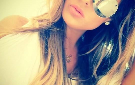 La belleza de Carla DiBello no se puede ocultar