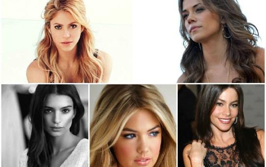 TOP 5 mujeres más sexys del mundo