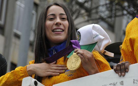 Mariana Pajón medalla de oro
