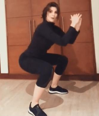 Ejercicios para eliminar calorías por Carolina Cruz: Sentadillas