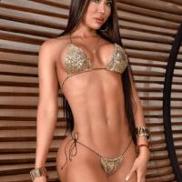 La caleña Rocio Morales, espectacular modelo colombiana