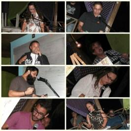 Representantes de los colectivos Liga de Poetas del Sur, Psicología de Liberación, South Flow y artistas independientes
