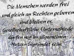 Allgemeine Erklärung der Menschenrechte 1789