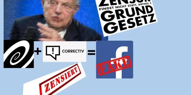 George Soros und Correctiv sind Fakenews