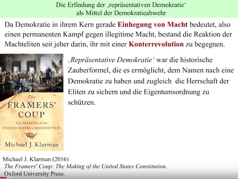 """Die """"verwirrte Herde"""" - Rainer Mausfelds Vortrag als Video"""