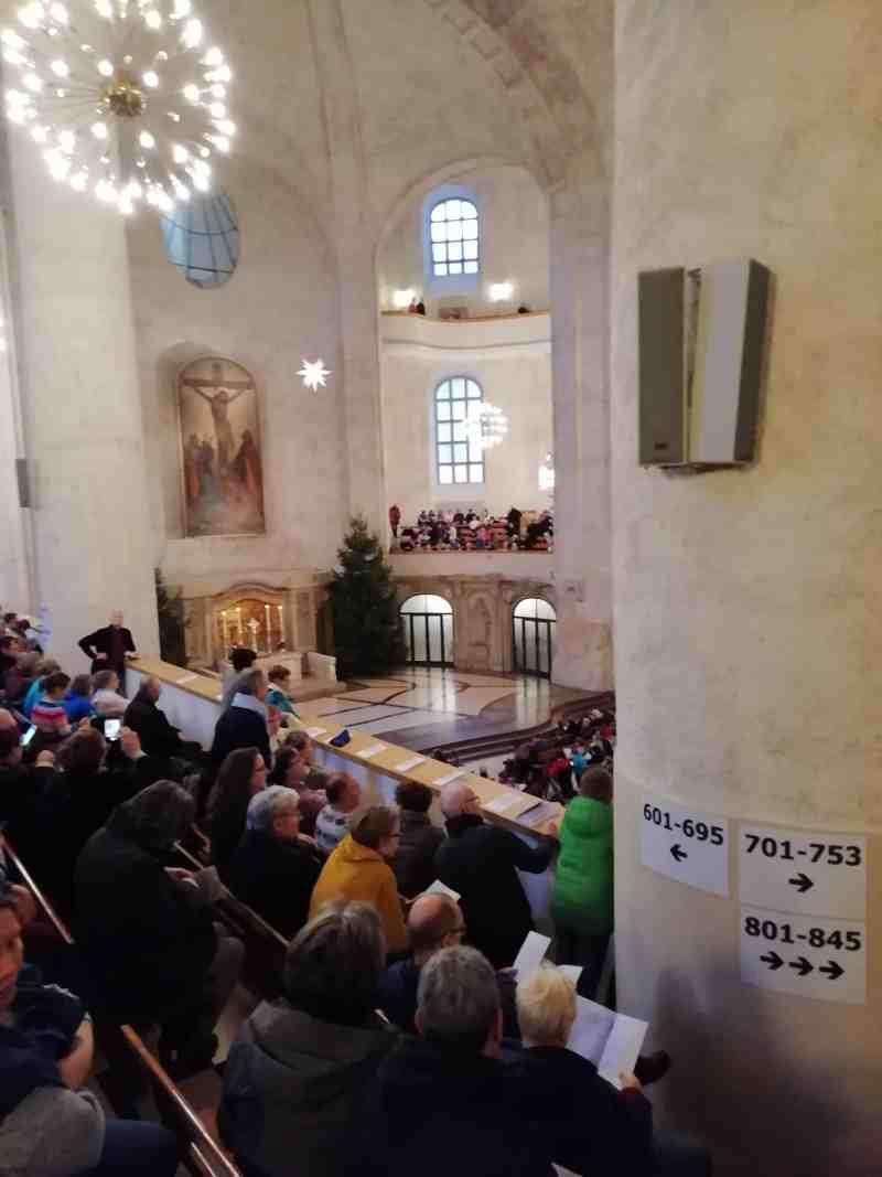 In der Die Dresdner Kreuzkirche